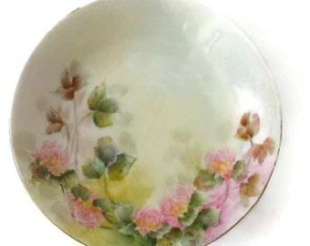 60% OFF Rosenthal Porcelain Bowl Decorative Kronach Bavaria Pink Floral Signed
