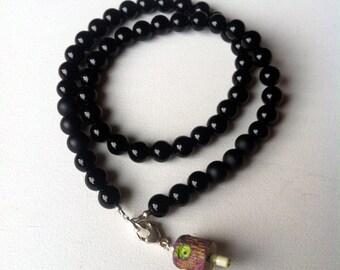 RUUSA graffiti necklace // Simple NY fat