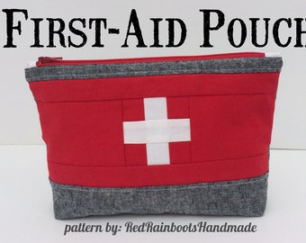 Travel First Aid Kit - PATTERN - for a cute little pouch