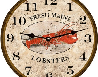 Lobster Clock- Personalized Lobster Clock