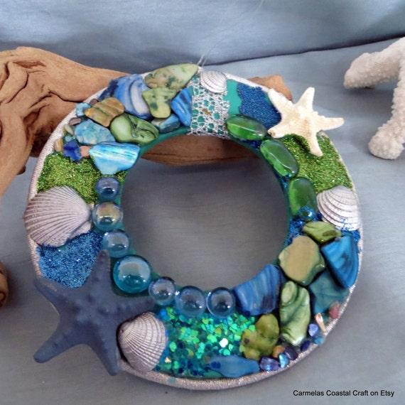 Items similar to beach decor elegance beach wall decor for Beachy decor items