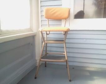 Vintage, Cosco Step Chair, Retro, Mid Century, Kitchen Decor, RhymeswithDaughter