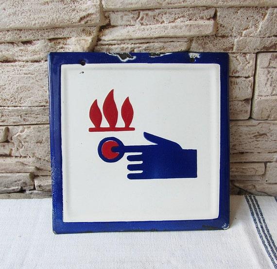 Vintage Safety Signs