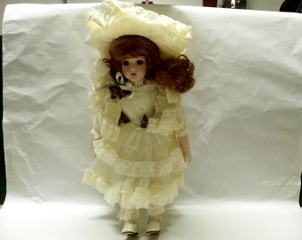 Seymour Mann Porcelain Doll / 1991 Connoisseur Collection / Caroline / Limited Edition