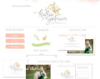 Luxe Branding Kit -marketing kit - photography marketing kit - logo and branding kit - marketing set