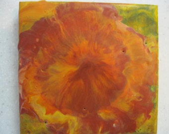 "Original Encaustic Painting - ""Katie"""