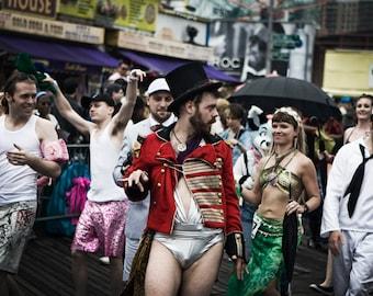 Walking Down the Boardwalk, Mermaid Parade