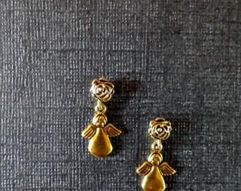 New Item!  Adorable Angel Magnetic Dangle Earrings!