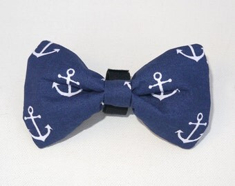 Dog Bow Tie Sailor, Pet Bow Tie, Bowtie, Collar Attachment