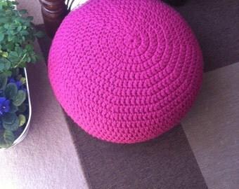 Crochet Handmade Poufs