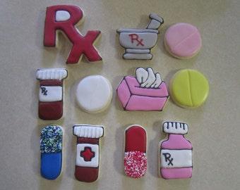 Cute Pharmacy Cookies