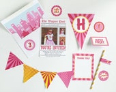 Pink Superhero Party Package