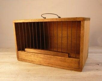 Vintage Birdcage from 1940s/ Antique Bird Calaboose/ Mid Century/Boho