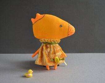 Sweet Monster Toy Stuffed Doll Animal  Birthday Gift For Boy Girl