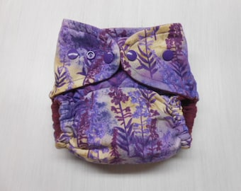Pocket Cloth Diaper includes soaker