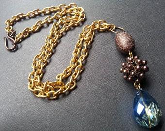 OOAK Ophelia's Jewelry Box Handmade - Necklace