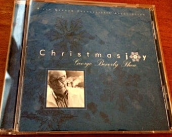 Christmas Joy by George Beverly Shea, Billy Graham Evangelistic, Christmas CD, Holiday CD, Christian Music Evangelical