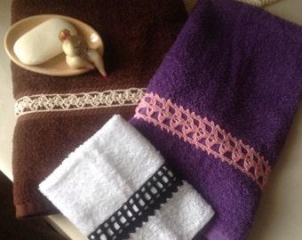 Custom Towel Set - 3 pieces