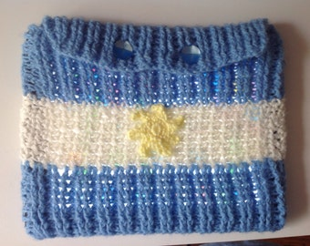 "iPad cozy, iPad cover ""Argentina"""