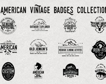 Hand Drawn Vintage Logo Templates