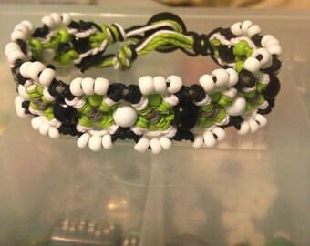 Lime Crime Hemp Bracelet