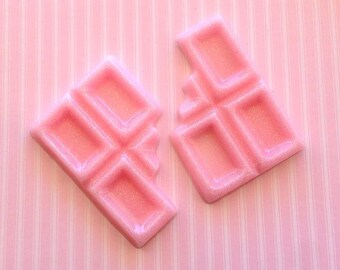 LRG Bitten Pink w/ Glitter Chocolate Bar - 2 pc