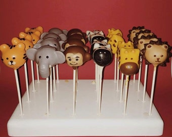 Zoo Animal Cake Pops