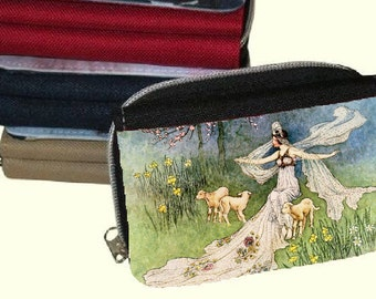 Canvas  Women's Purse, Wallet - Vintage  Fairies 2