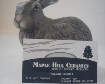 Ceramic Rabbit Easter Bunny, realistic bunny rabbit