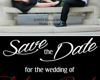 Save the Date for Wedding