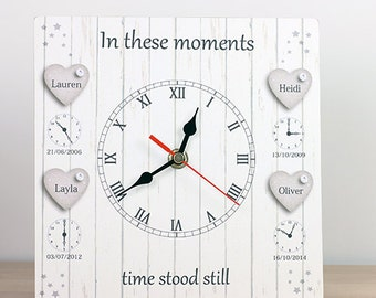 In these moments birth clock 4 Children UK Seller