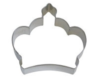 "Imperial Crown 3.5"" Cookie Cutter"