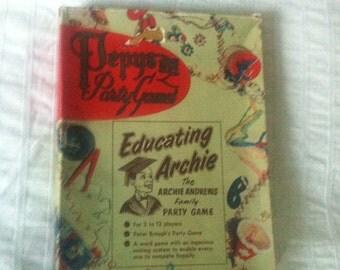 Vintage word game Educating Archie