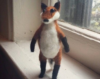 Little Needle Felted Fox