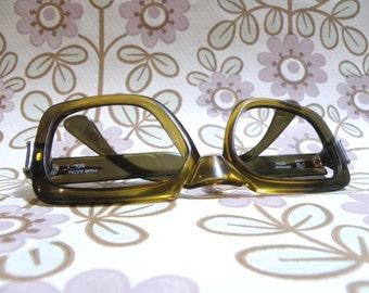 60s to 70s Optyl prescription glasses 1960s 1970s Mod