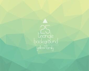 geometric triangle background