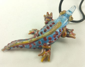 Alligator - Glass Necklace