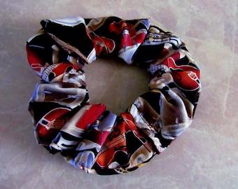 Band Instrument Hair Scrunchie 100% Cotton