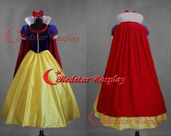 Snow White Dress, Snow White Costume, Snow White Cosplay, Snow White Dress Cosplay Costume