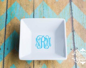 Large Monogram Ring Dish