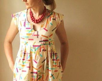 Washi Dress Pattern from Made by Rae
