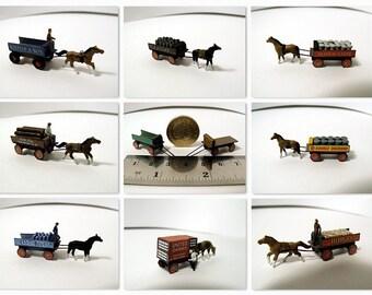 10 N Gauge Model Card Carts