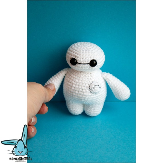 Crochet Amigurumi Baymax Pattern : Crochet Baymax .PDF crochet pattern, Big Hero 6, crocheted ...