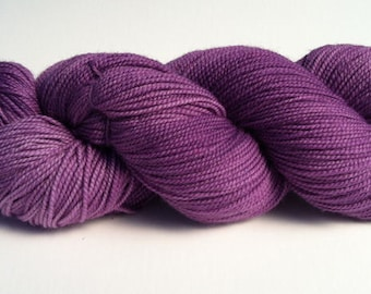 Baah La Jolla Yarn Color Lilac               Hand Dyed Premium Artisan Yarn!    400 Yards! Regular Price 29.00