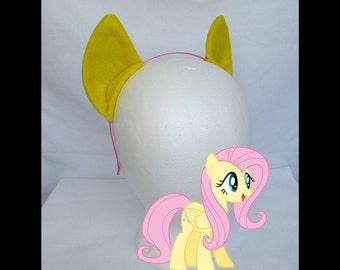 Fluttershy My Little Pony Ears, Costume Ears, Cosplay Ears Headband