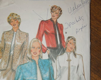 Butterick 3972, size 10, UNCUT sewing pattern, misses, womens lined jacket