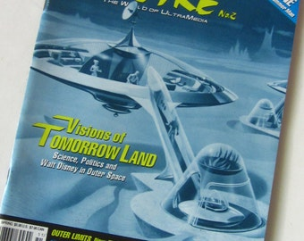 FilmFax OUTRE-The World of UltraMedia Science Fiction Magazine-1995 Tomorrow Land Visions-Jackie Chan Interview