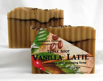 Triple Shot Vanilla Latte Soap Made in Montana