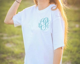 Items similar to chalky mint comfort colors t shirt xlarge for Mint color t shirt