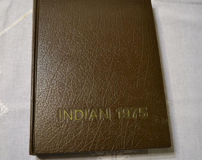 Vintage Yearbook 1975 Indian Arkansas State University Vintage Book  PanchosPorch